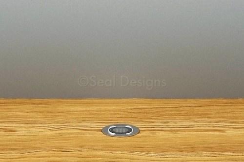 10 x 18mm Kit – Blue Stainless Steel Round Bezel