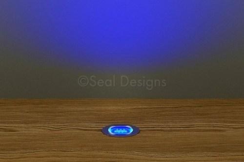 10 x 18mm Easy Change Kit – Blue Stainless Steel Round Bezel