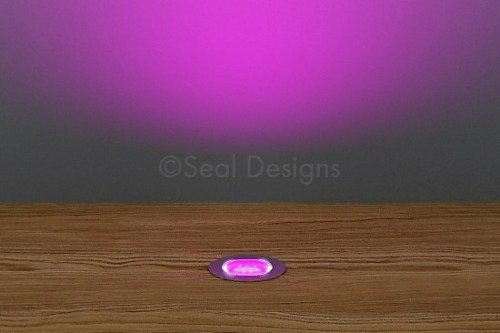 10 x 18mm Kit – Pink Stainless Steel Round Bezel