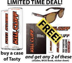 kill cliff coupon code 2013