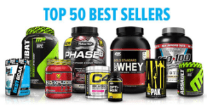 top 50 best selling supplements