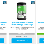 Optimum Nutrition Coupons and Promo Codes