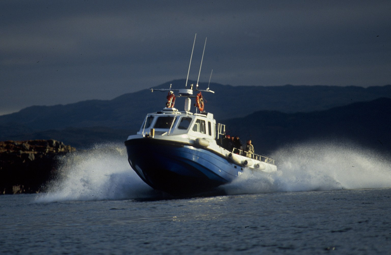 Our boat for wildlife watching in Scotland