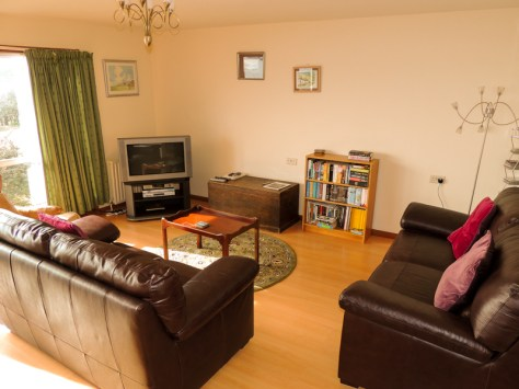 Atlantic Bay holiday cottage living room