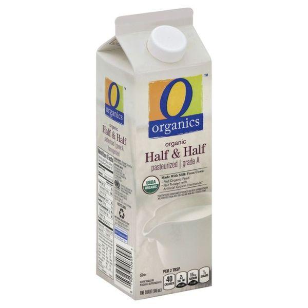 O Organics Half and Half, Organic