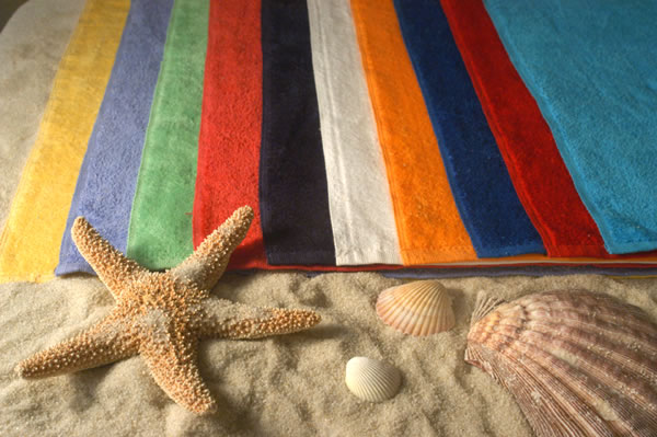 Velour Beach Towels