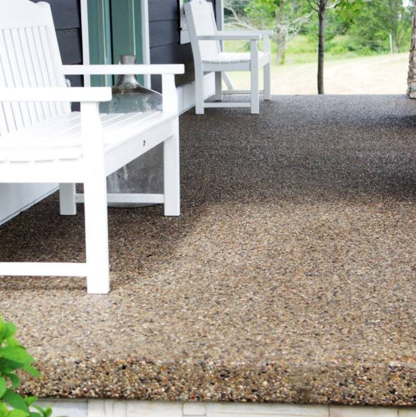 maintaining exposed aggregate driveways