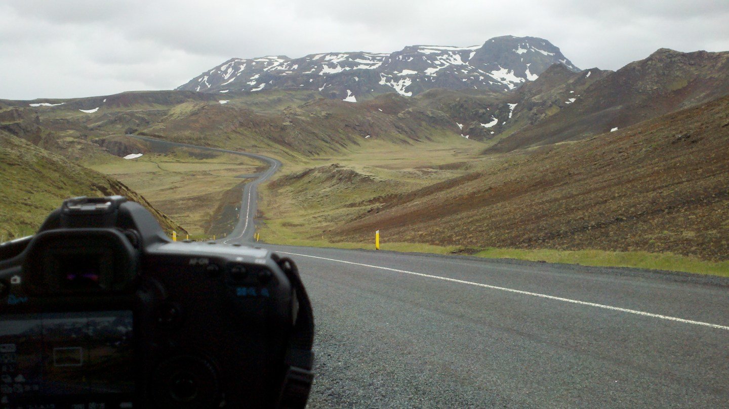 A road less traveled by. This was captured in Iceland during a feature documentary production.