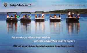 Happy new year - Bonne année - Waveboats - jet boat - bateau pour jet ski