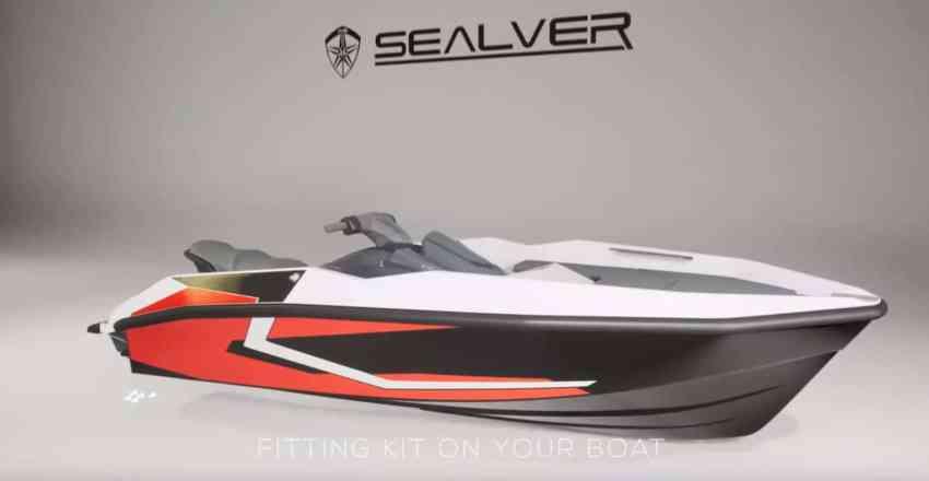 Wave boat WB 444 - with Yamaha FX HO Cruiser 2019 turned into waveboat - tranformez votre jetski Yamaha FX HO Cruiser en bateau