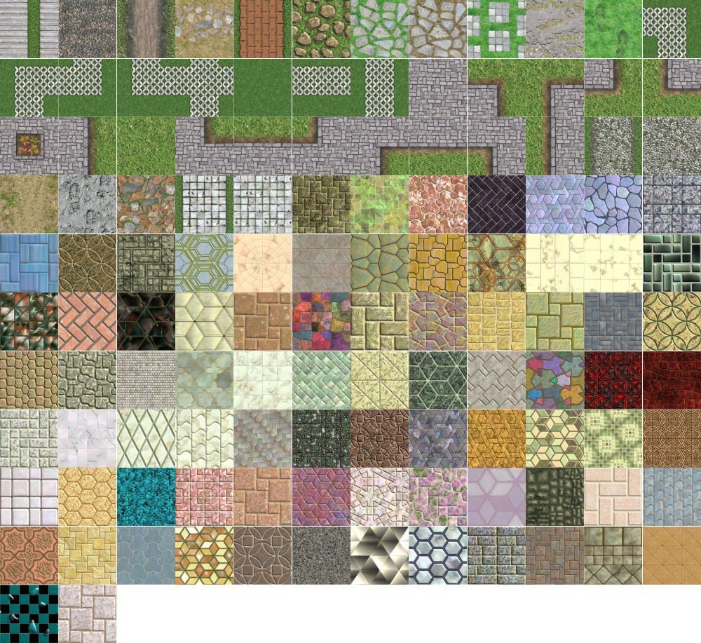 Textures Unleashed Lite Volume 9: Tile and Path