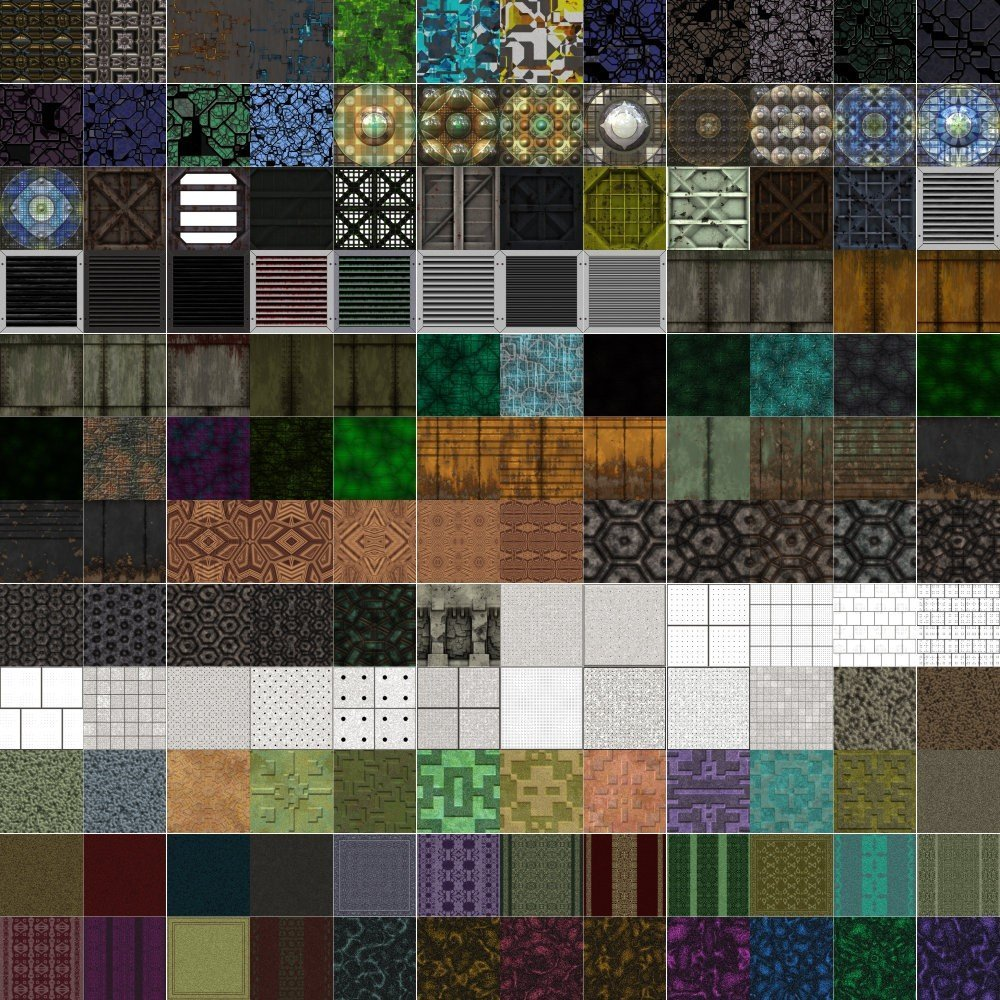 Textures Unleashed Lite Volume 25: Floor Wall II