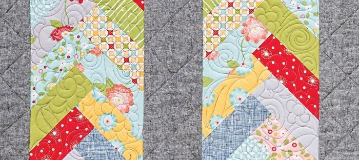 Gray quilt