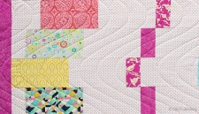 Dance Party; FQ Quilt