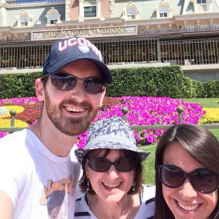 Scott, Jocelyn and me at Disney!