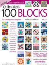 Quiltmaker's 100 Blocks vol 13