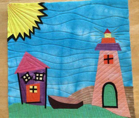 Mini Lighthouse quilt