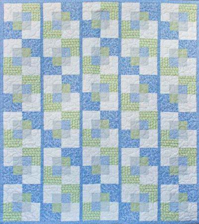 Stroll - a modern quilt pattern design by Kate Colleran