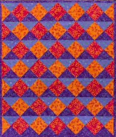 Quarter Turn - quilt pattern design by Kate Colleran