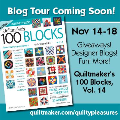 100 Blocks blog tour