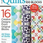 My quilt in Quilts from Quiltmaker's 100 Blocks