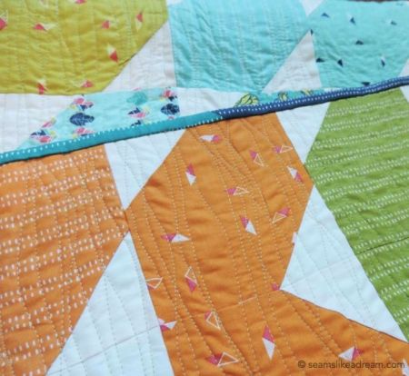 Precut Quilt Pieces: Squiggles featured by top US quilt blog and shop, Seams Like a Dream Quilt Designs