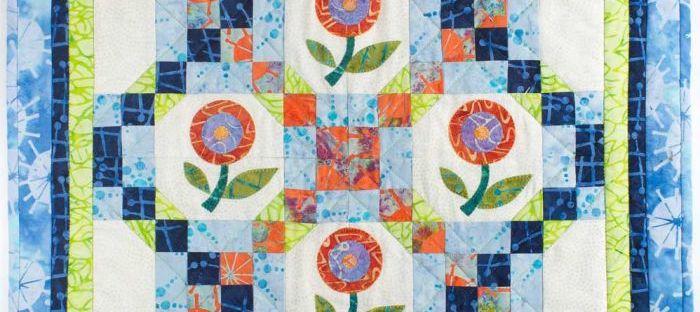 mini quilt batik