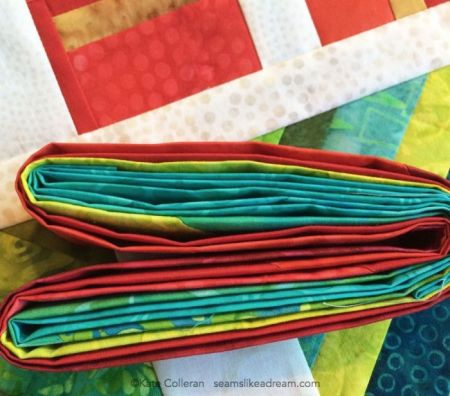 Quilt Borders, Batting, Backing and Binding tips featured by top US quilting blog and shop, Seams Like a Dream Quilt Designs.