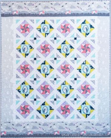 Top US quilting blog and shop, Seams Like a Dream Quilt Designs, shares tips for sewing partial quarter square triangle blocks.