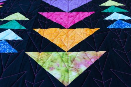 Adventures In Quilting- Flying Geese