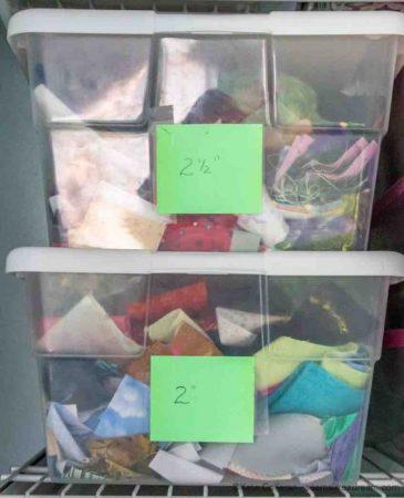 bins for strips