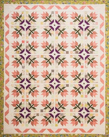 Gardenesque Quilt from the book Smash Your Precut Stash