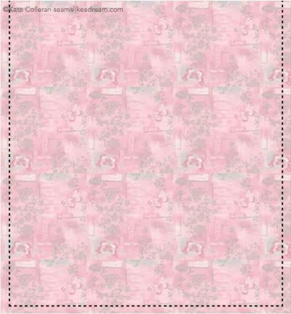 Quilted Tote Bag Tutorial with Soulful Shades of Pink Fabric featured by top US quilting blog Seams Like a Dream Quilt Designs