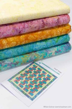 5 Fast and Easy Scrap Quilts you Can Do While at Home featured by top US quilting blog and shop, Seams Like a Dream Quilt Designs