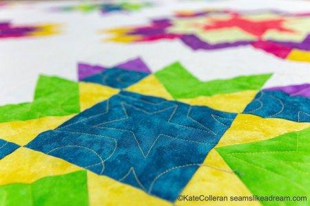 Luminous Quilt Along Project: Quilt Setting