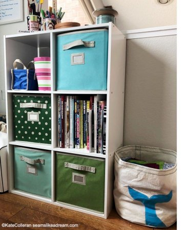 Practical Sewing Room Organization Tips for May featured by top US quilting blog and shop, Seams Like a Dream Quilt Designs