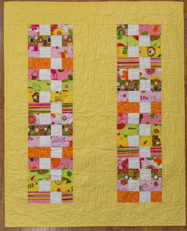 Favorite Spring Quilts, featured by top US quilting blog, Seams Lie a Dream Quilt Designs: Boston Bricks