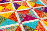 Tropical Sunset: a Brand New Fat Quarter Quilt Pattern