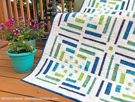 Breakout: A NEW Modern Log Cabin Quilt Pattern