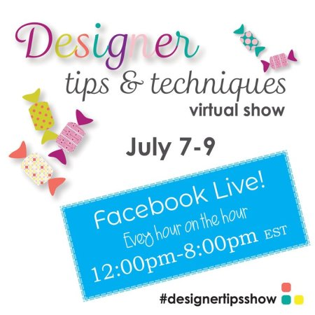 Quilting Events in July featured by top US quilting blogger and shop, Seams Like a Dream Quilt Designs: Designer Tips and Techniques Virtual Show