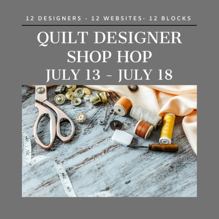 Quilting Events in July featured by top US quilting blogger and shop, Seams Like a Dream Quilt Designs: Quilt Designer Shop Hop