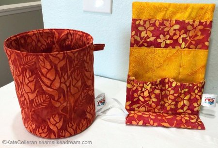 Sewing Room Tips: DIY Sewing Storage Containers featured by top US quilting and sewing blog, Seams Like a Dream Quilt Designs.