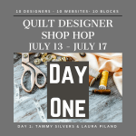 Quilt Designer Shop Hop - Day 1