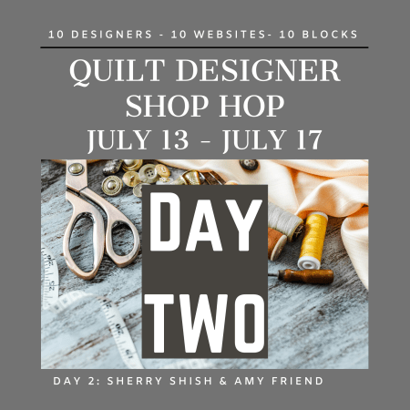 Top US quilting blog, Seams Like a Dream Quilt Designs, features all the info for the Quilt Designer Shop Hop Day 2. Click here now for more!!