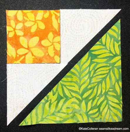 How to Make a Shaded Four Patch Quilt Block, a tutorial featured by top US quilting blog and shop, Seams Like a Dream Quilt Designs