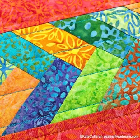 Kismet Thread Project with Aurifil Thread featured by top US quilting blog and shop, Seams Like a Dream Quilt Designs