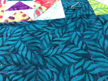 Quilter's Color Play Challenge Quilt featured by top US quilting blogger and shop, Seams Like a Dream Quilt Designs