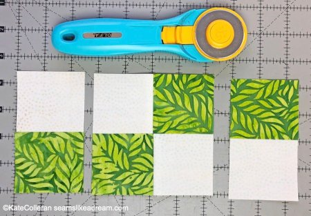 Disappearing 4 Patch Block tutorial featured by top US quilting blogger, Seams Like A Dream Quilt Designs.