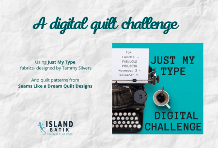 A Digital Quilt Challenge to Recolor a Quilt