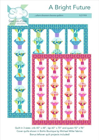 Hope for Tomorrow blog hop, featured by top US quilting blog and shop Seams Like a Dream Quilt Designs, features a quilt that brought hope!